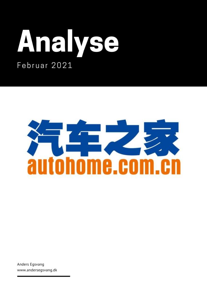 AutoHome 2021