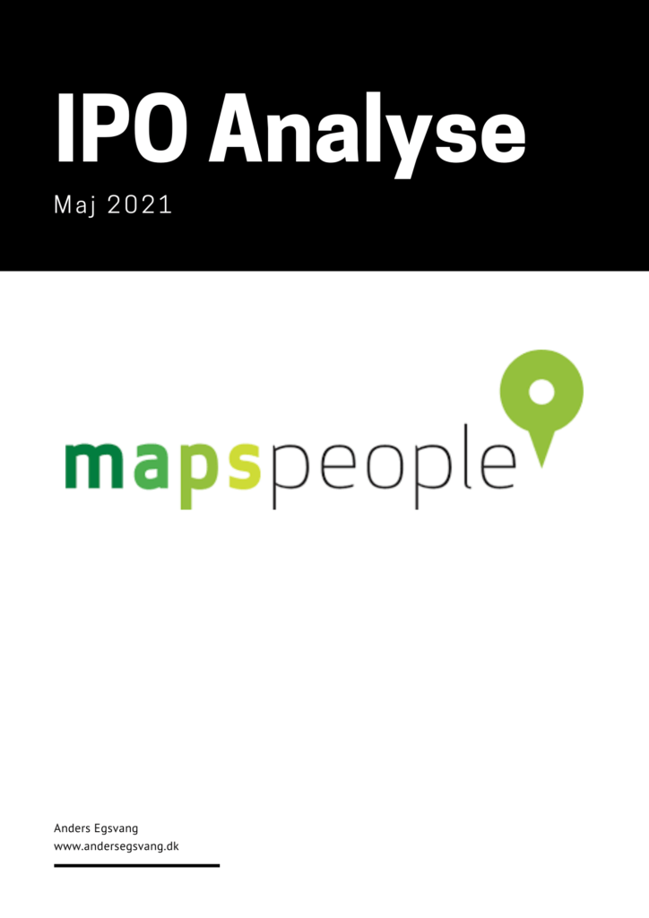 MapsPeople IPO analyse