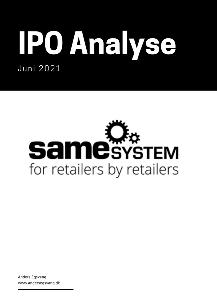 SameSystem IPO analyse